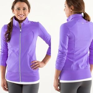 Lululemon purple Contempo jacket